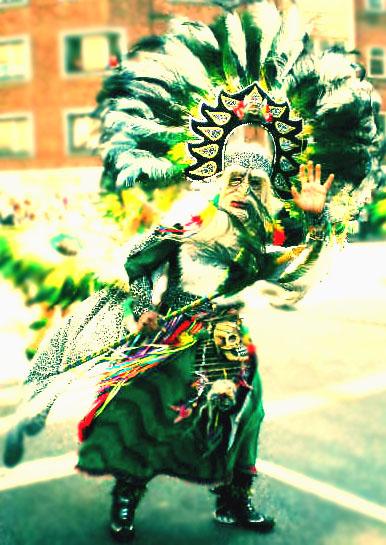 chamán - karnaval - aalborg 2009